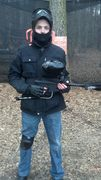 A day of paintball!!(mask up)