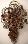 Rusty Gears made by Erin Keck