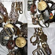 Vintage Necklaces and a Few Robots