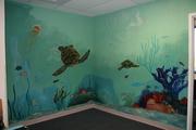 Oseola Regional Medical Center Pediatric Play Room Mural