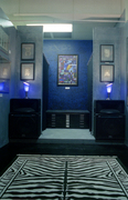 My studio at O.V.A.L.