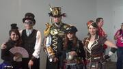 Brielle and I with Cross-Hatton Steampunk!