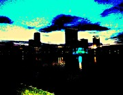 Lake Eola Fountain at Night-Study#1 (2)