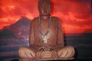 TAHITIAN DRAGON BUDDHA