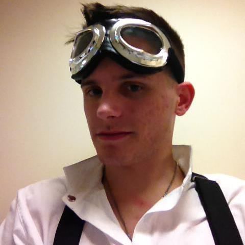 First set of Aviator Goggles