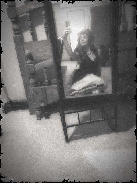 T'luluh Mirror - Aged Photo