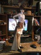 Sakura's new steampunk outfit. 2