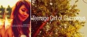 Teenage Girl of Glamorous