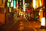 Night time in Tokyo    by adamy