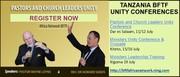 Tanzania x3 Unity Conference