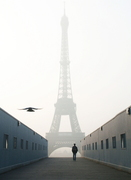 The Eiffel in the mist