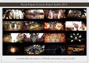 "screen shot mixed media animation ""RPS-Robot Battle"""