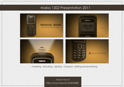 screen shot Nokia1202 presentation