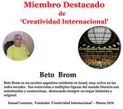 Miembro destacado Beto Brom