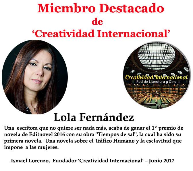 Miembro Destacado Lola Fernández