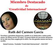 Miembro destacado Ruth Garcia