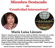 Miembro destacado Maria L Lazzaro