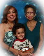 My mother and my son