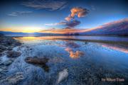 Sunset in Lake Kerkini