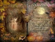 (a)Book of Shadows Moon October Vine Moon, by Angie Latham