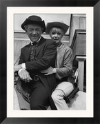 Angela-Douglas-and-Sid-James-Film-Carry-on-Cowboy-Posters