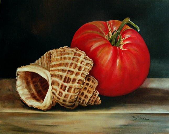 trigonostoma et tomate