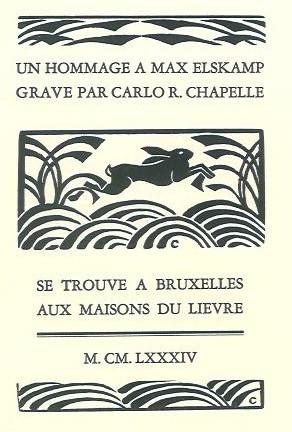 Hommage de Carlo Chapelle à Max Elskamp