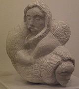 la sculpture sur pierre  de giambra giovanni