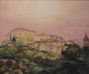 Nuit tombante en Provence