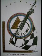 Music and Harmony  15x10