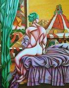 La Bagneuse de Tikal