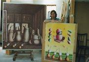 Arango à son atelier
