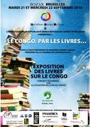 """Exposition """"Le Congo, par les livres"""""""