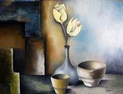 fleurs en pot ( JABERT )