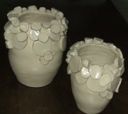 rondins sur vases