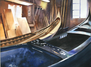 Atelier de réparation de gondoles à San  Trovaso