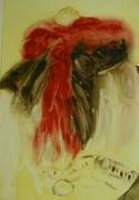 Nature morte aux foulards