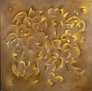 Feuilles dorées