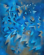 Forêt blue