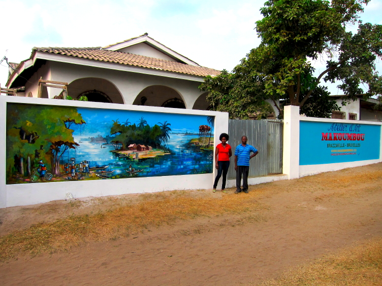 """La peinture """"Le village de pêcheurs"""""""