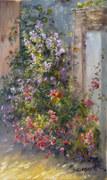 Coin fleuri en Rochefort-en-Terre