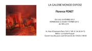 Exposition Florence Penet - Galerie Monod PARIS