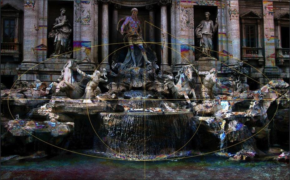 Trevi Fountain Dark