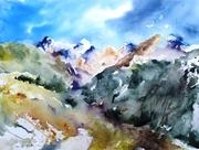 La descente du Col de Vars