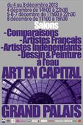 AFFICHE ART EN CAPITAL salon 2013