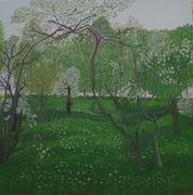 Les 4 saisons (4 huiles sur toile format 100X100
