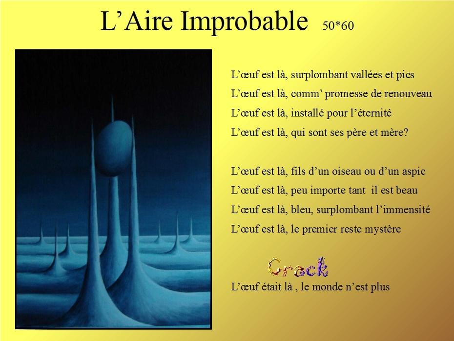 L'aire improbable