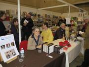 Salon du livre Mons, novembre 2013
