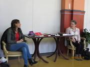 Brunch littéraire du 16 mars 2014 (Martine Rouhart et Murielle Lona)