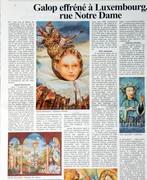 Article à propos de l'exposition actuelle au Luxembourg.